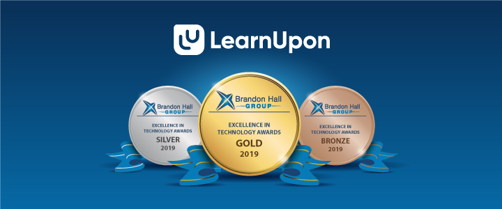 LearnUpon Takes Gold at the 2019 Brandon Hall Tech Awards