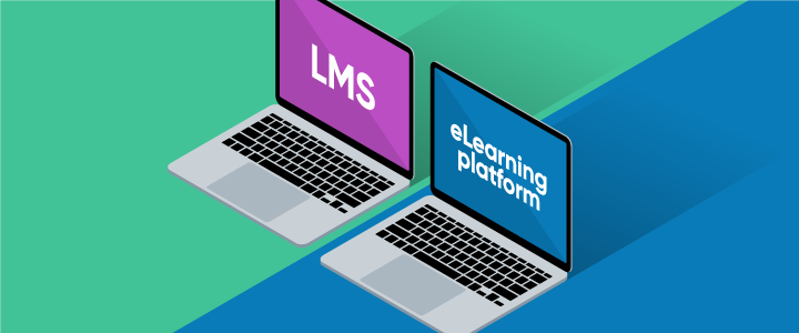 eLearning platform vs LMS