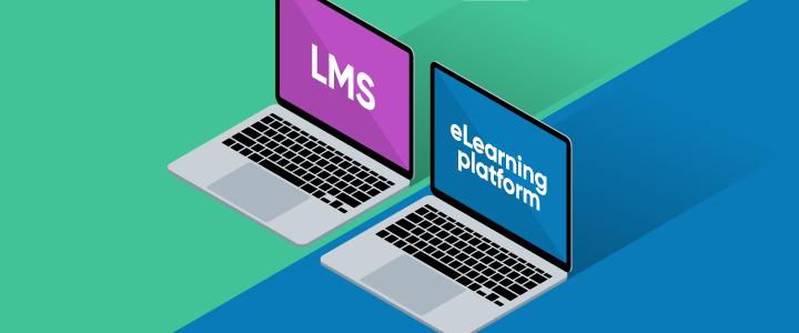 eLearning platform vs LMS