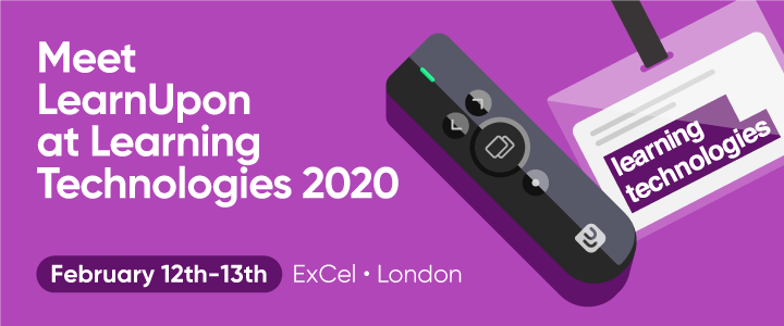 LearnUpon at Learning Technologies 2020