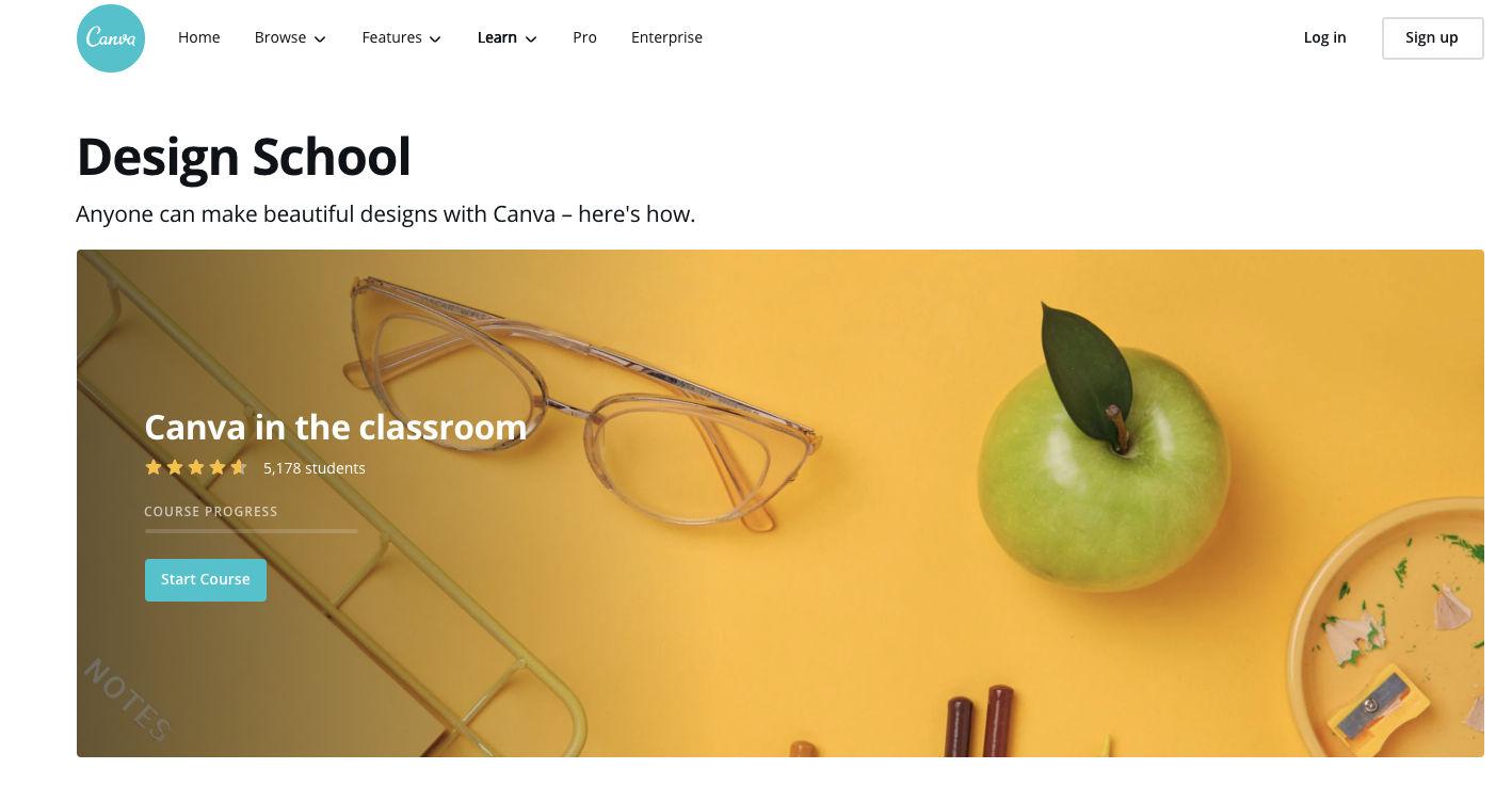 Canva eLearning Resources Guide