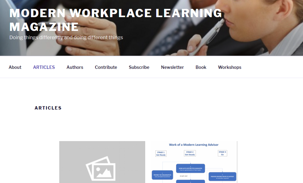 Modern Workplace Learning Magazine