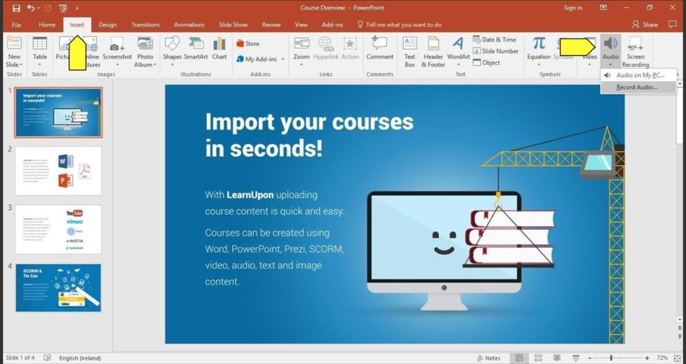 powerpoint eLearning