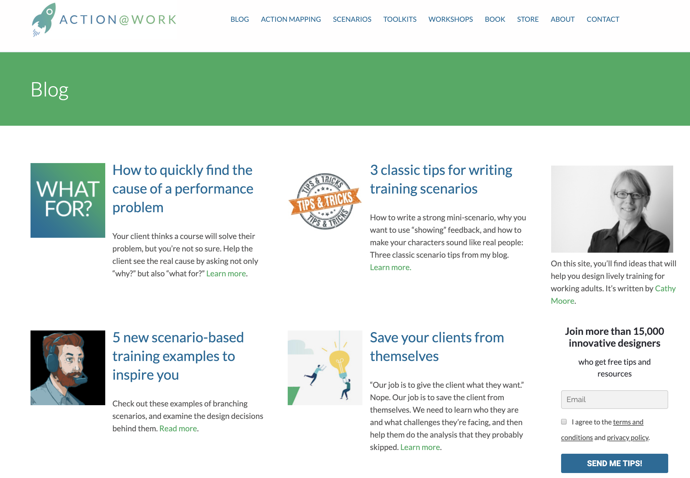 Cathy Moore eLearning Resources Guide