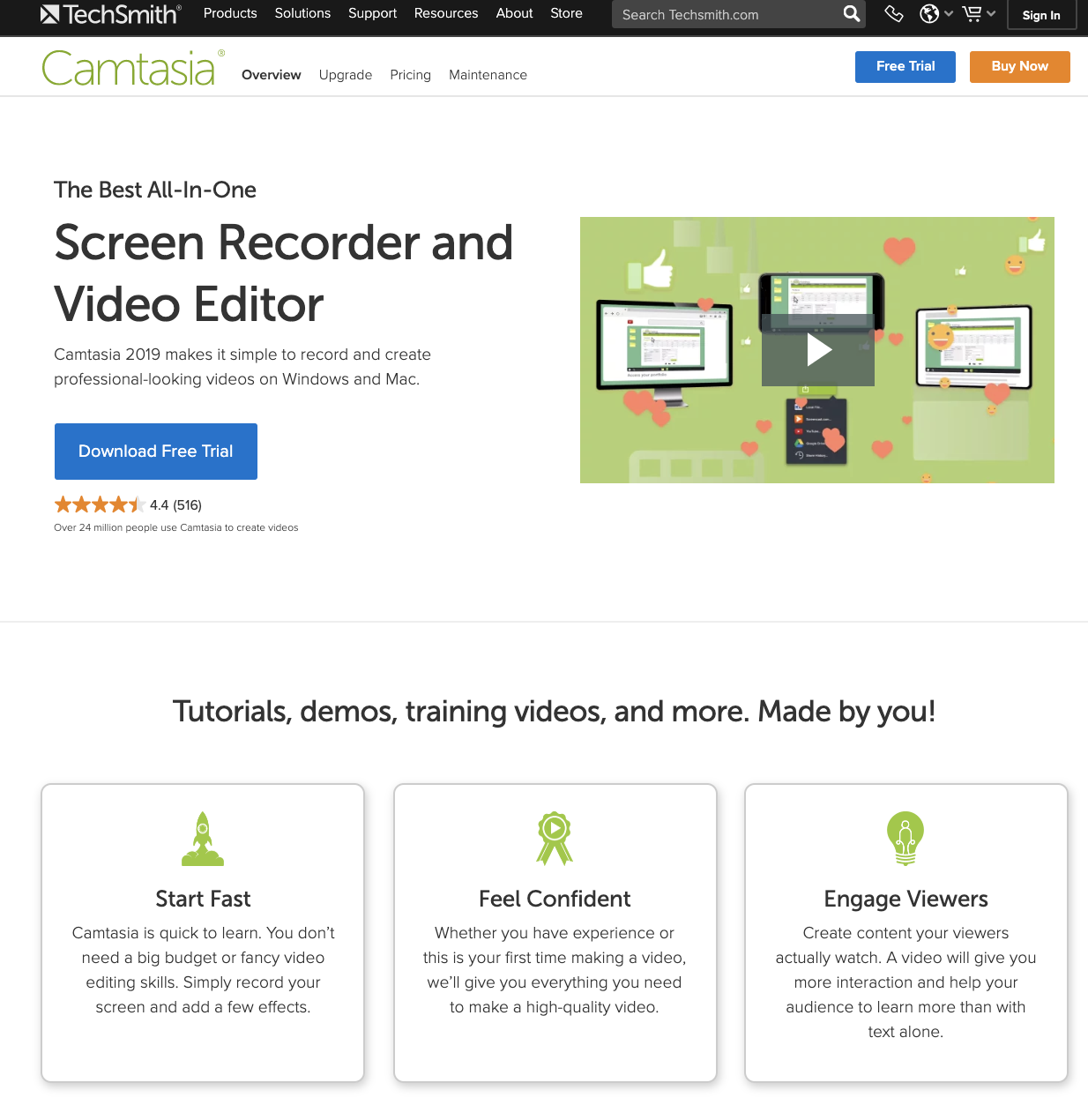 TechSmith eLearning Resources Guide