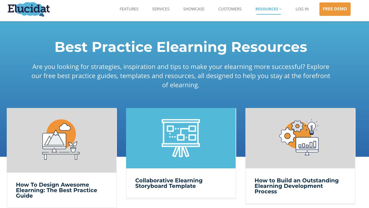 Elucidat eLearning Resources Guide