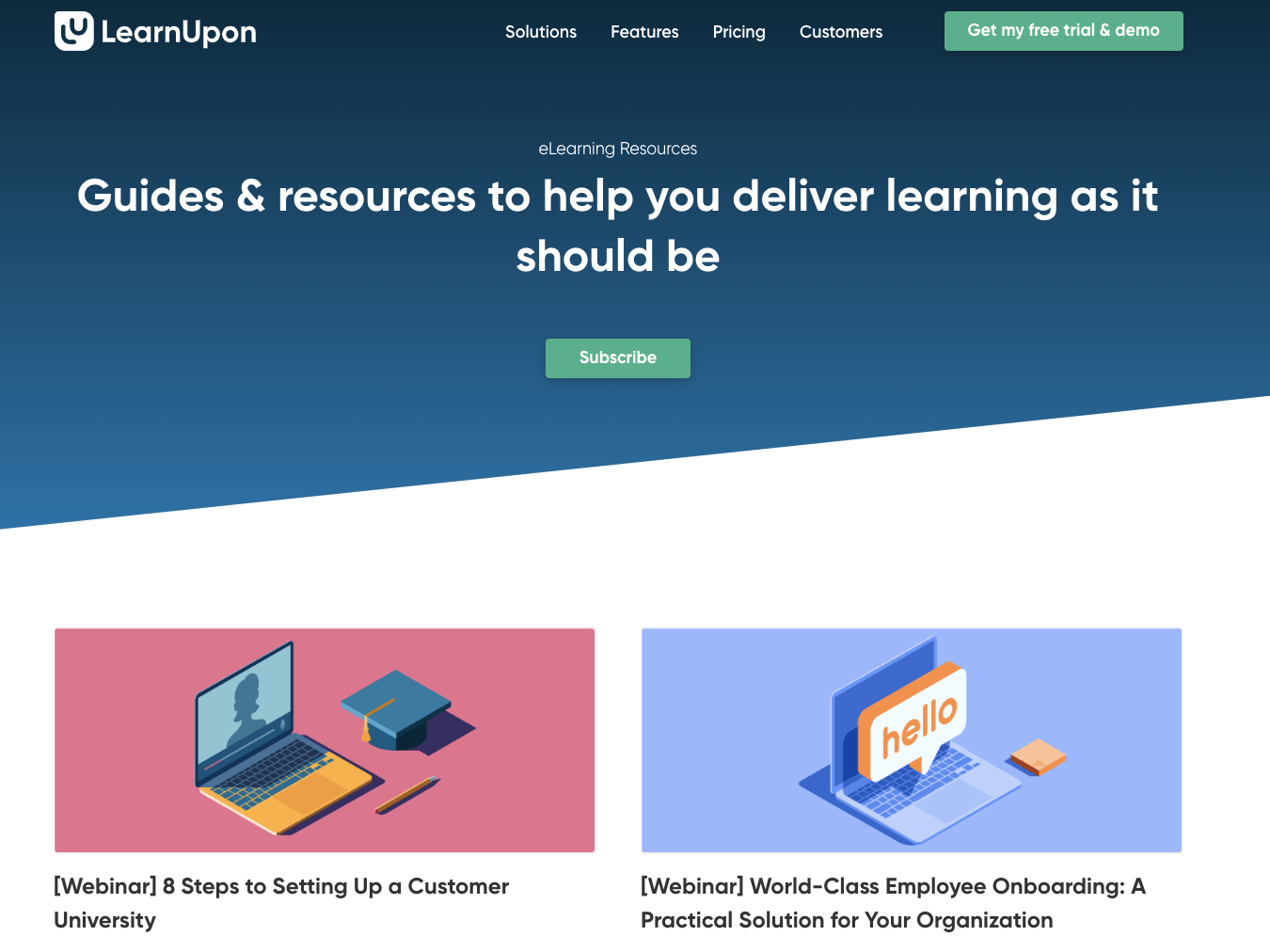 LearnUpon eLearning Guides