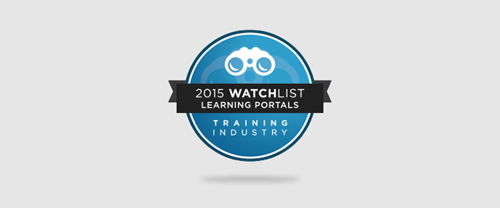 LearnUpon make 2015 Training Industry Learning Portals Watch List