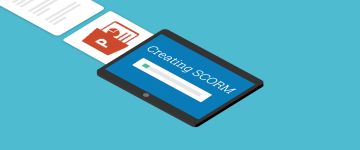 converting a powerpoint to SCORM