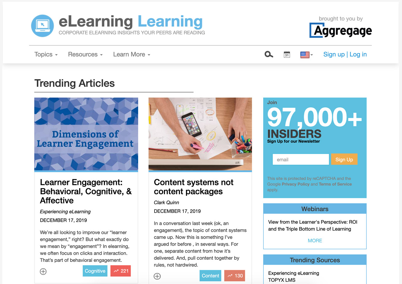 The Best eLearning Websites to Bookmark - eLearning Learning